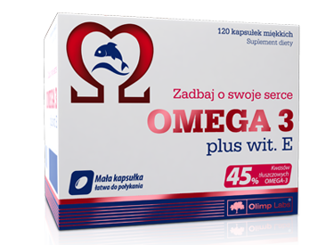 Omega 3 plus witamina E